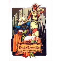 Record of lodoss war illustration